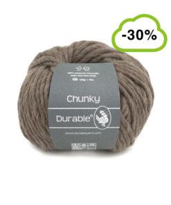 durable chunky taupe korting