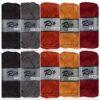 Cadeauset 4 - 10 bollen katoen garen - warm winter kleuren Rio voordeelset